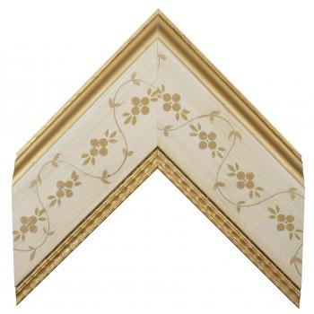 Деревянный багет Белый 30733051