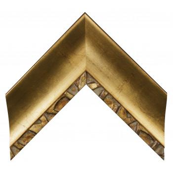 Деревянный багет Золото 347.64.031