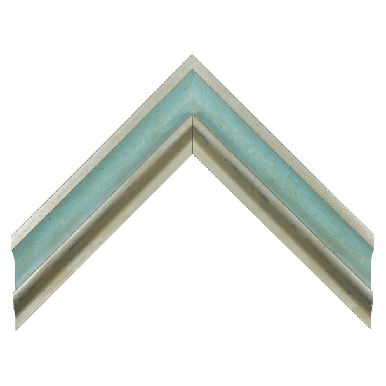 Деревянный багет Голубой 349.64.187 в интернет-магазине ROSESTAR фото