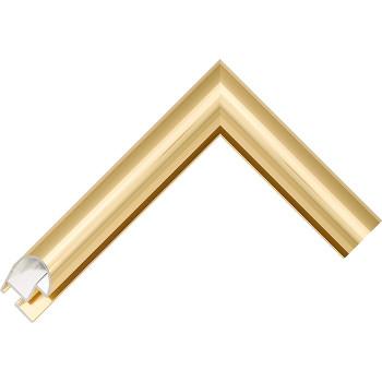 Алюминиевый багет золото блестящий 48-13