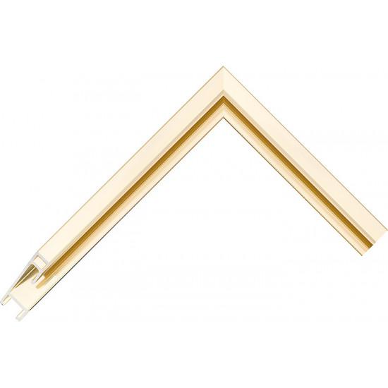Алюминиевый багет золото блестящий 50-13 в интернет-магазине ROSESTAR фото