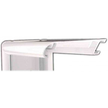 Алюминиевый багет белый глянцевый 58-102