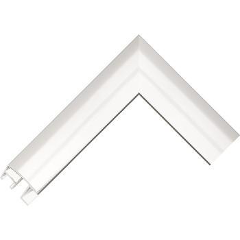 Алюминиевый багет серебро блестящий 69-11