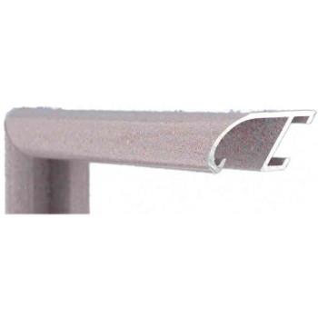 Алюминиевый багет сиреневый гранит 89-213