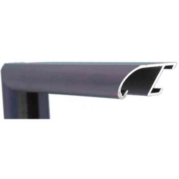 Алюминиевый багет фиолетовый 89-306