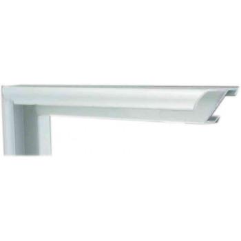 Алюминиевый багет серебро матовый 905-12