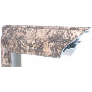 Алюминиевый багет платиновый самородок М2-506