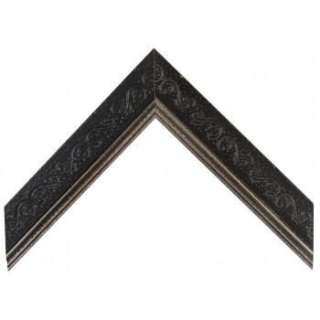 Деревянный багет Черный А-В110391