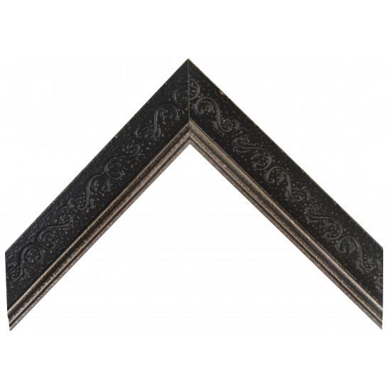 Деревянный багет Черный А-В110391 в интернет-магазине ROSESTAR фото