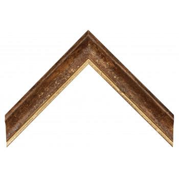 Деревянный багет Темно-коричневый 089.64.087