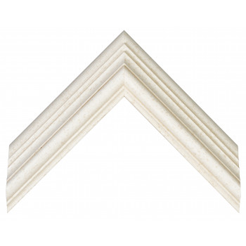Деревянный багет Теплый белый 097.63.058