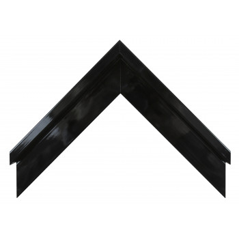 Деревянный багет Чёрный глянцевый 106.51.045