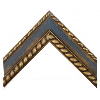 Деревянный багет Синий 12483050