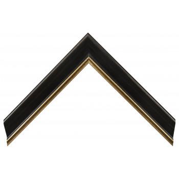 Деревянный багет Черный 13533245