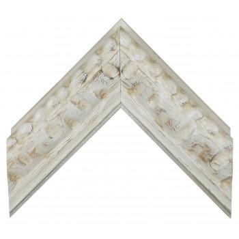 Деревянный багет Белый 14683003