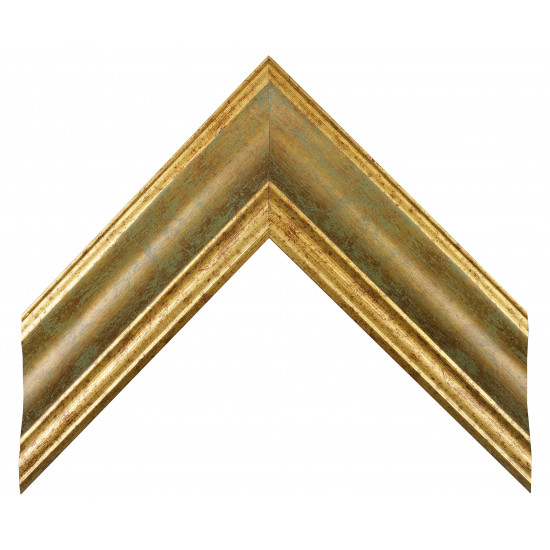Деревянный багет Золото 279.53.047 в интернет-магазине ROSESTAR фото