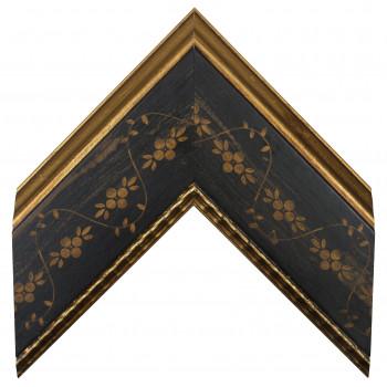 Деревянный багет Черный 30733086