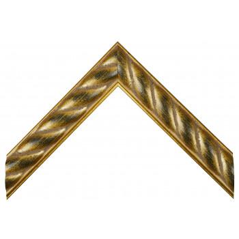 Деревянный багет Золото 349.81.060