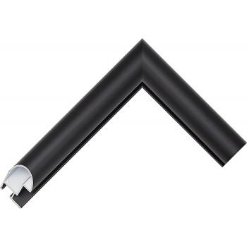 Алюминиевый багет черный 48-25