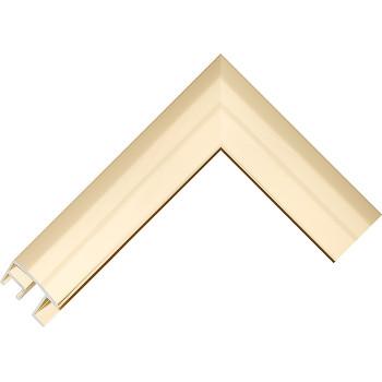 Алюминиевый багет золото блестящий 69-13