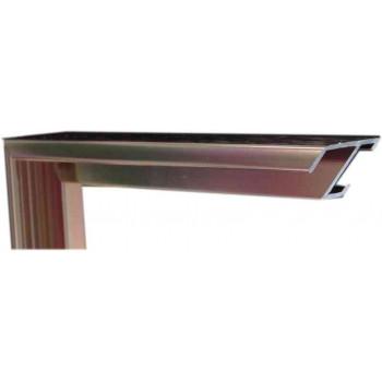 Алюминиевый багет медь 84-15