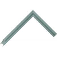 Алюминиевый багет пастельный зеленый блестящий 85-110