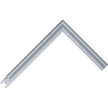 Алюминиевый багет голубое олово матовый 85-19