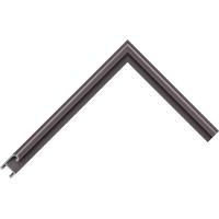 Алюминиевый багет коричневый 85-32