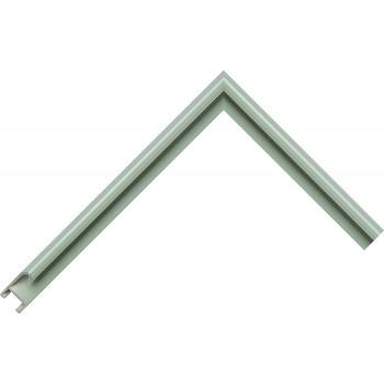 Алюминиевый багет пастельный зеленый матовый 85-42