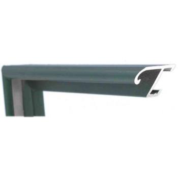 Алюминиевый багет зеленый 85-304