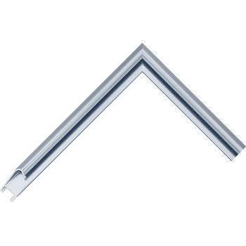 Алюминиевый багет голубой 86-18