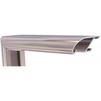 Алюминиевый багет корица блестящий 89-09