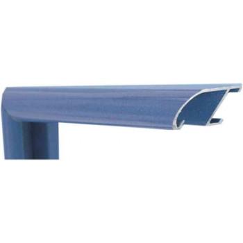 Алюминиевый багет синий оникс 89-204