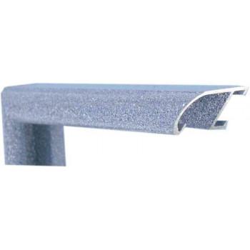 Алюминиевый багет голубой лазурит 89-214