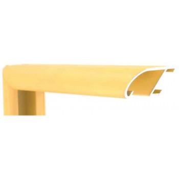Алюминиевый багет золотой 89-317