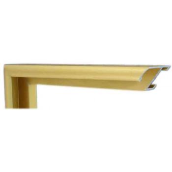 Алюминиевый багет золото матовый 905-14