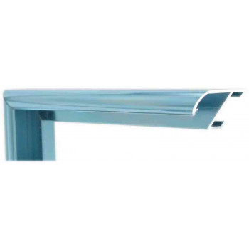 Алюминиевый багет голубое олово блестящий 915-18