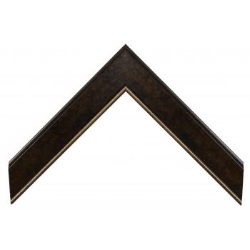 Пластиковый багет Темно-коричневый 992-756P