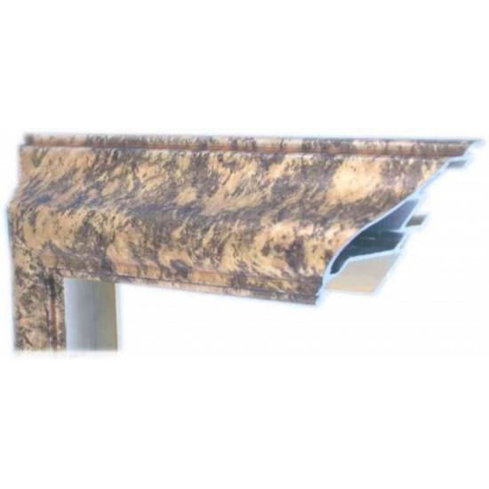 Алюминиевый багет золото М2-507 в интернет-магазине ROSESTAR фото