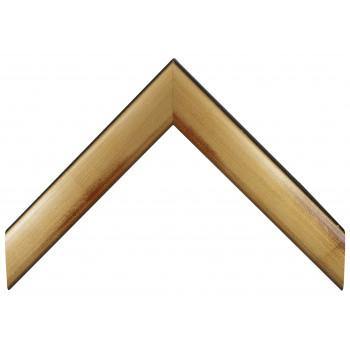 Деревянный багет Золото А-В100536