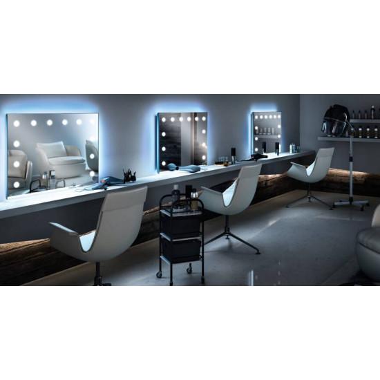 Зеркало для парикмахерской с подсветкой Колд в интернет-магазине ROSESTAR фото