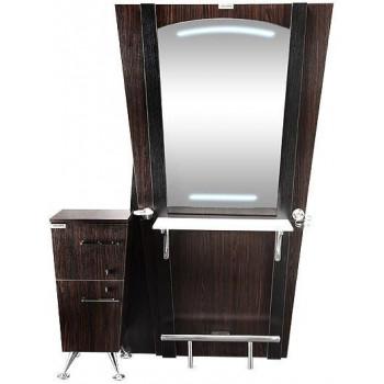 Парикмахерское зеркало с подсветкой Эдж