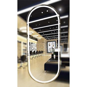 Овальное парикмахерское зеркало с подсветкой Иола