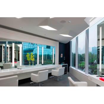 Зеркало для парикмахерской с подсветкой Премьер
