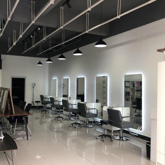 Парикмахерское зеркало с задней подсветкой Стиль в интернет-магазине ROSESTAR фото