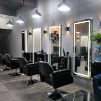 Зеркало для парикмахерской с подсветкой Визаж-4