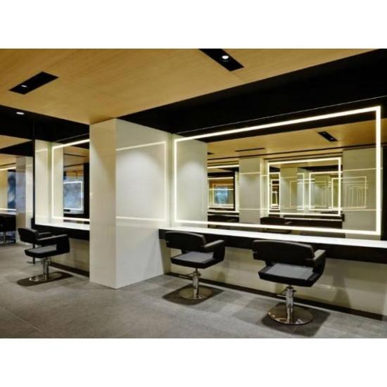 Зеркало для парикмахерской с подсветкой Визаж-1 в интернет-магазине ROSESTAR фото