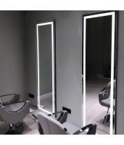 Зеркало для парикмахерской с подсветкой Визаж-2