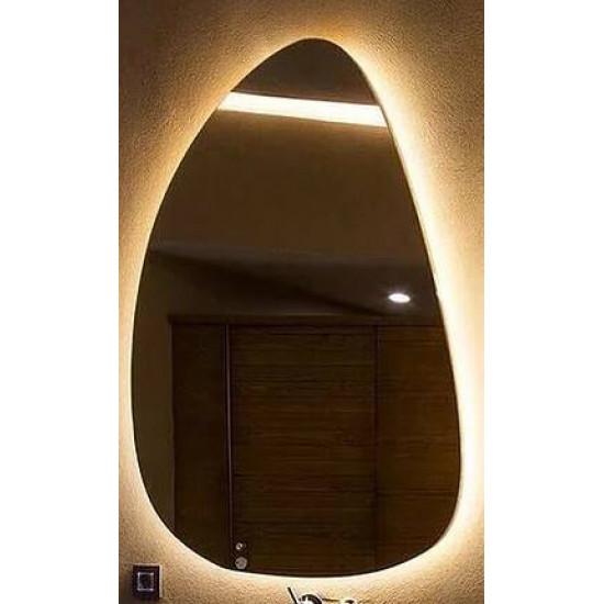Зеркало Капля с задней подсветкой Модель 3