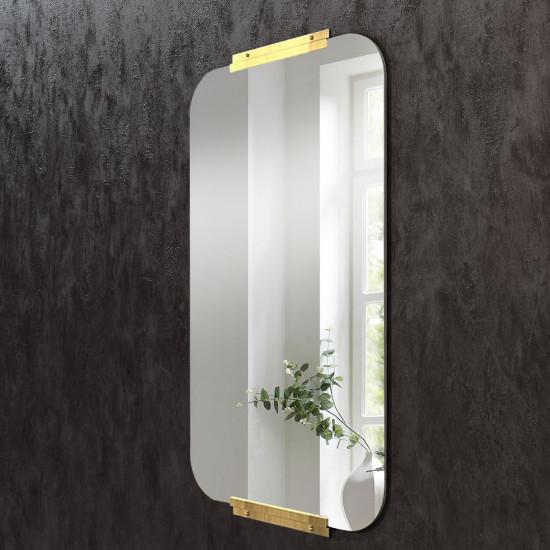 Зеркало с креплением из латуни Кэндлер в интернет-магазине ROSESTAR фото